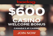 Bodog Casino Canada website