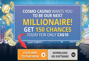 Cosmo Casino Canada website