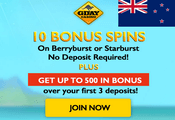 Gday Casino exclusive sign-up bonus spins