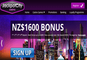 Jackpot City Casino New Zealand website