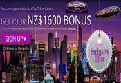 Jackpot City Casino sign-up bonus - New Zealand