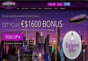 Jackpot City Casino website