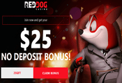 Red Dog Casino - exclusive no deposit bonus