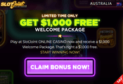 SlotJoint Casino Australia website