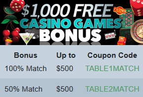 Casino Games Bonus at Sloto'Cash