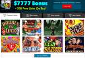 Sloto'Cash Casino website