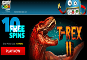 Sloto'Cash Casino exclusive free spins bonus