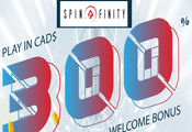 Spinfinity Casino Canada website